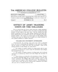 The American College Bulletin : 1918 Vol... Volume Vol. 2 by Roberts, William, C.