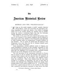 The American Historical Review : 1896 Vo... Volume Vol. 1 by Schneider, Robert, A.