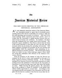 The American Historical Review : 1899 Vo... Volume Vol. 4 by Schneider, Robert, A.