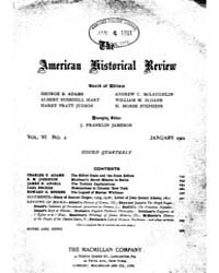 The American Historical Review : 1901 Vo... Volume Vol. 6 by Schneider, Robert, A.