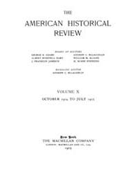 The American Historical Review : 1904 Vo... Volume Vol. 10 by Schneider, Robert, A.