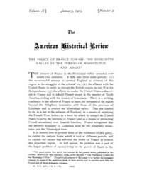 The American Historical Review : 1905 Vo... Volume Vol. 10 by Schneider, Robert, A.