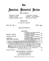 The American Historical Review : 1907 Vo... Volume Vol. 12 by Schneider, Robert, A.