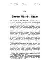 The American Historical Review : 1908 Vo... Volume Vol. 13 by Schneider, Robert, A.
