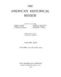 The American Historical Review : 1911 Vo... Volume Vol. 17 by Schneider, Robert, A.