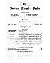 The American Historical Review : 1916 Vo... Volume Vol. 21 by Schneider, Robert, A.