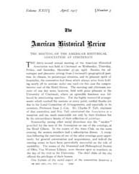 The American Historical Review : 1917 Vo... Volume Vol. 22 by Schneider, Robert, A.