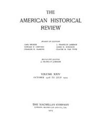 The American Historical Review : 1918 Vo... Volume Vol. 24 by Schneider, Robert, A.