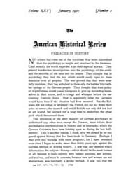 The American Historical Review : 1920 Vo... Volume Vol. 25 by Schneider, Robert, A.