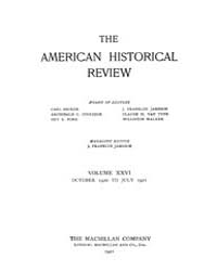 The American Historical Review : 1920 Vo... Volume Vol. 26 by Schneider, Robert, A.