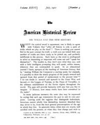 The American Historical Review : 1921 Vo... Volume Vol. 26 by Schneider, Robert, A.