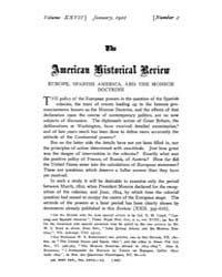 The American Historical Review : 1922 Vo... Volume Vol. 27 by Schneider, Robert, A.