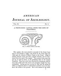 The American Journal of Archaeology and ... Volume Vol. 2 by Norman, Naomi, J.