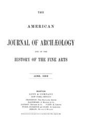 The American Journal of Archaeology and ... Volume Vol. 4 by Norman, Naomi, J.