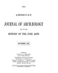 The American Journal of Archaeology and ... Volume Vol. 5 by Norman, Naomi, J.