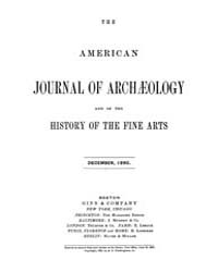 The American Journal of Archaeology and ... Volume Vol. 6 by Norman, Naomi, J.