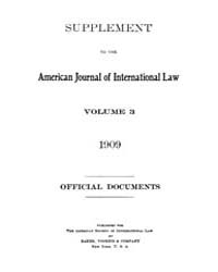 The American Journal of International La... Volume Vol. 3 by