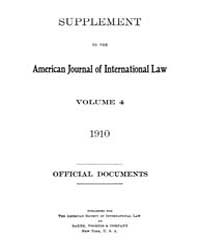 The American Journal of International La... Volume Vol. 4 by