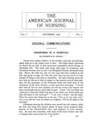 The American Journal of Nursing : 1900 V... Volume Vol. 1 by Kennedy, Maureen, Shawn