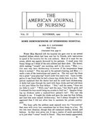 The American Journal of Nursing : 1902 V... Volume Vol. 3 by Kennedy, Maureen, Shawn
