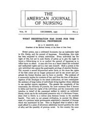 The American Journal of Nursing : 1903 V... Volume Vol. 4 by Kennedy, Maureen, Shawn
