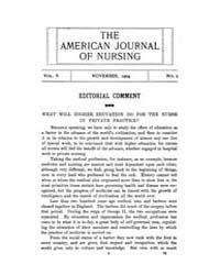 The American Journal of Nursing : 1904 V... Volume Vol. 5 by Kennedy, Maureen, Shawn