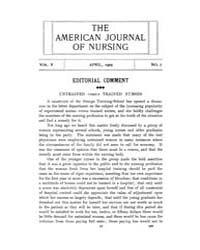 The American Journal of Nursing : 1905 V... Volume Vol. 5 by Kennedy, Maureen, Shawn