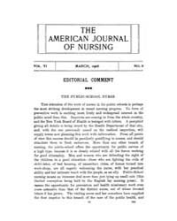 The American Journal of Nursing : 1906 V... Volume Vol. 6 by Kennedy, Maureen, Shawn