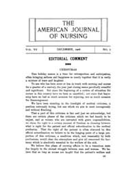 The American Journal of Nursing : 1906 V... Volume Vol. 7 by Kennedy, Maureen, Shawn