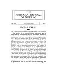 The American Journal of Nursing : 1907 V... Volume Vol. 8 by Kennedy, Maureen, Shawn