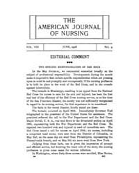 The American Journal of Nursing : 1908 V... Volume Vol. 8 by Kennedy, Maureen, Shawn