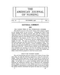 The American Journal of Nursing : 1908 V... Volume Vol. 9 by Kennedy, Maureen, Shawn