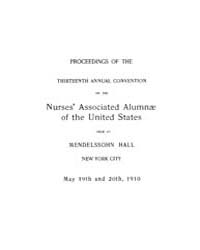 The American Journal of Nursing : 1910 V... Volume Vol. 10 by Kennedy, Maureen, Shawn