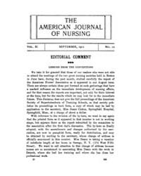 The American Journal of Nursing : 1911 V... Volume Vol. 11 by Kennedy, Maureen, Shawn