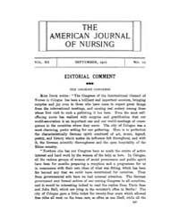 The American Journal of Nursing : 1912 V... Volume Vol. 12 by Kennedy, Maureen, Shawn