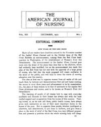 The American Journal of Nursing : 1912 V... Volume Vol. 13 by Kennedy, Maureen, Shawn