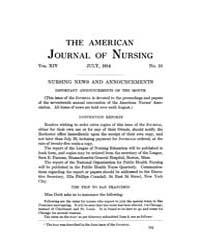 The American Journal of Nursing : 1914 V... Volume Vol. 14 by Kennedy, Maureen, Shawn
