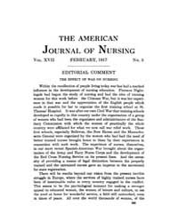 The American Journal of Nursing : 1917 V... Volume Vol. 17 by Kennedy, Maureen, Shawn