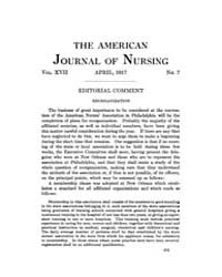 The American Journal of Nursing : 1917 V... Volume Vol. 17 by Kennedy, Maureen, Shawn