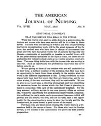 The American Journal of Nursing : 1918 V... Volume Vol. 18 by Kennedy, Maureen, Shawn