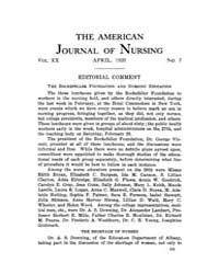 The American Journal of Nursing : 1920 V... Volume Vol. 20 by Kennedy, Maureen, Shawn