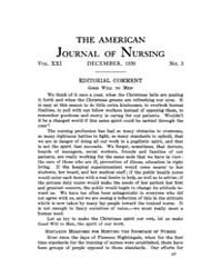 The American Journal of Nursing : 1920 V... Volume Vol. 21 by Kennedy, Maureen, Shawn