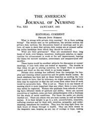 The American Journal of Nursing : 1921 V... Volume Vol. 21 by Kennedy, Maureen, Shawn