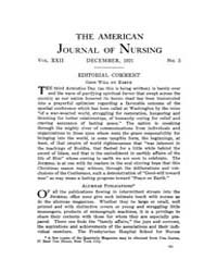 The American Journal of Nursing : 1921 V... Volume Vol. 22 by Kennedy, Maureen, Shawn