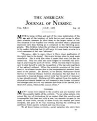The American Journal of Nursing : 1922 V... Volume Vol. 22 by Kennedy, Maureen, Shawn