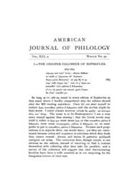 The American Journal of Philology : 1892... Volume Vol. 13 by Larmour, David, H. J.
