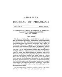The American Journal of Philology : 1898... Volume Vol. 19 by Larmour, David, H. J.