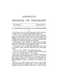The American Journal of Philology : 1901... Volume Vol. 22 by Larmour, David, H. J.