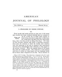 The American Journal of Philology : 1902... Volume Vol. 23 by Larmour, David, H. J.