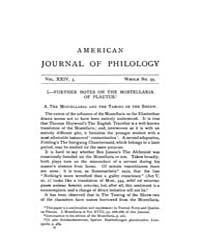 The American Journal of Philology : 1903... Volume Vol. 24 by Larmour, David, H. J.